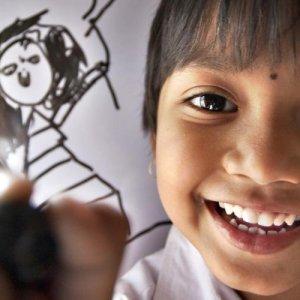 Children's Drawings on Sale to Help Street Kids