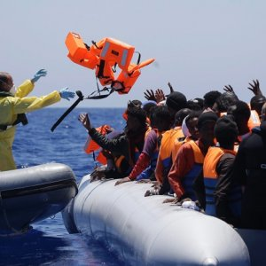 Migrants Reach EU by Sea in Record Numbers