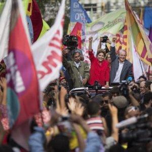Brazilians Vote in Nail-Biter Election