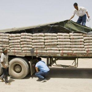 Cement Export Down
