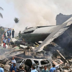 115 Dead  in Indonesia  Plane Crash