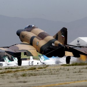 Warplanes Provide Air Support in Army Drills