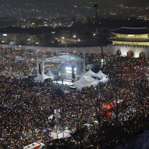 S. Korea President Faces Impeachment Vote