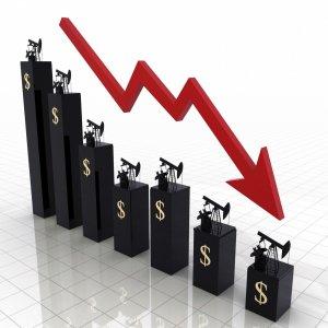 Crude Oil Drops Below $55