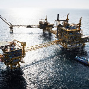 2,300-Ton SP Gas Platform Installed