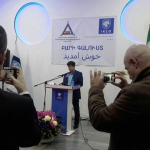 IKCO opened its first showroom in Yerevan after the economic sanctions were eased in January.