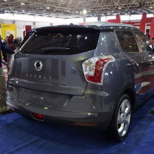 Iran has emerged as the biggest export market for Ssangyong Motor's small SUV Tivoli.