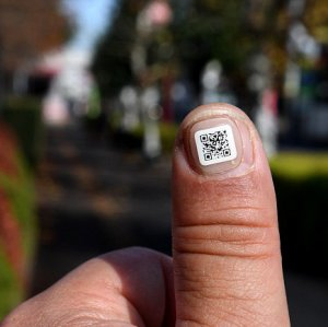 Tiny Barcodes for Dementia in Japan