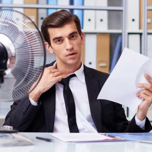 Over 80% of the office workers said the temperature – being too hot or too cold – was their biggest frustration.