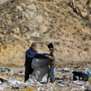 According to official figures, 7000 tons of waste is produced daily in Tehran.