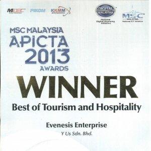Travel Compute Wins APICTA Award