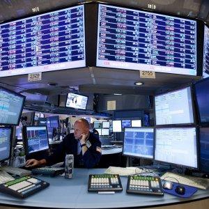 The Wall Street stock market