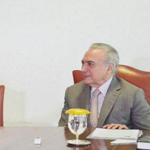 Susana Malcorra (L) and Michel Temer