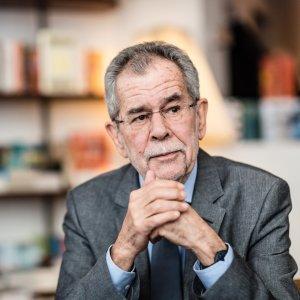 Alexander Van der Bellen, the Austrian president-elect