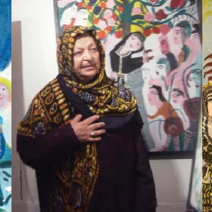 Mokarrameh Ghanbari and her works