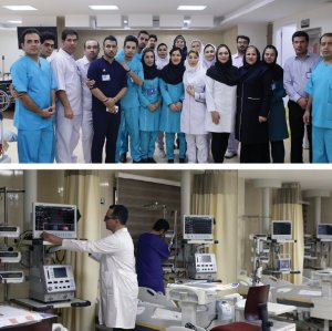 The hospital is equipped with high-tech devices on par with global standards.