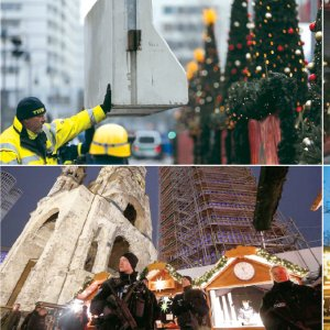 Cities across the world are on high alert after four suspected terror attacks in just 24 hours, with armed police guarding Christmas markets and shopping centers.