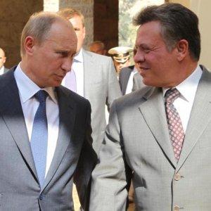 Putin,  Jordan King  to Meet