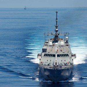 US Warship Sails Near Island Claimed by China