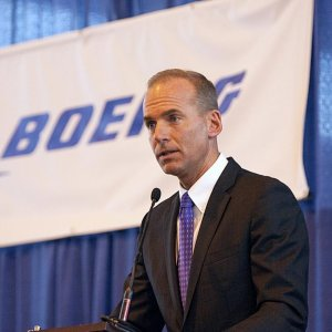 Boeing Chief Executive Officer Dennis Muilenburg