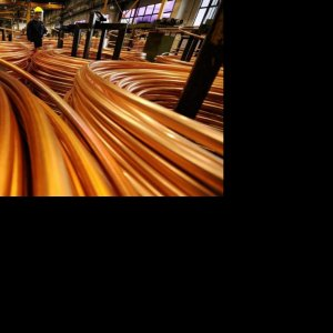 6-Month Copper Cathode Output Up 1.7%