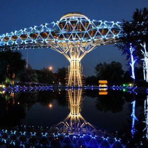 Tehran's Nature Bridge Wins Architecture Award