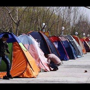 Camping in Public Spaces Criticized