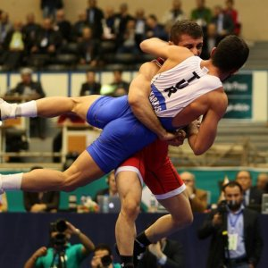 Iran 3rd in Greco-Roman Wrestling World Cup