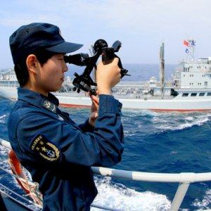 China DrillsNearKorea Peninsula