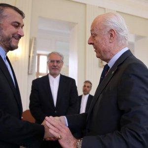 UN Envoy Visits Tehran Before Syria Talks
