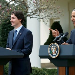 "Canadian PM Honors ""Sibling"" Obama"