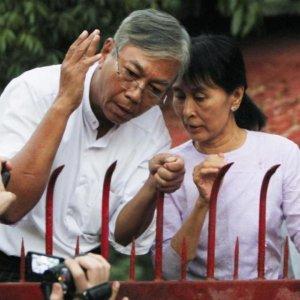 Suu Kyi Aide Elected Myanmar President