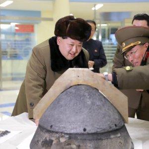 N. Korean Leader Supervised Test of  New Ballistic Missile Engine