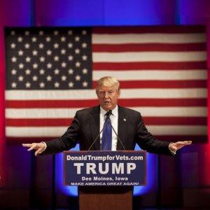 Trump Promises to Reshape Image