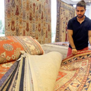 Persian Rug Trading Set for US Revival