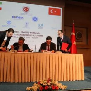 Iran, Turkey Sign  3 MoUs