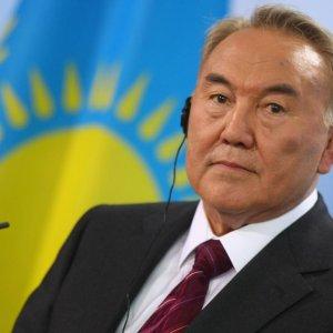 Kazakh President in Iran