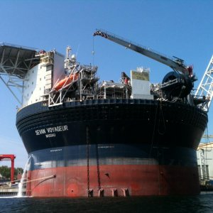 55% Progress in S. Pars FPSO Unit