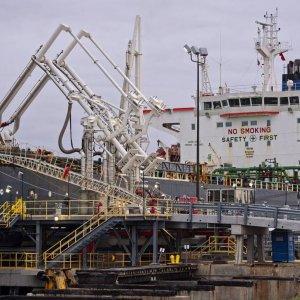 1st Oil Cargo Lands in Europe
