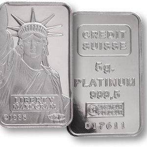 Platinum Market Deficit to Shrink
