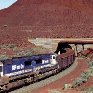 Rise in Aussie Iron Ore Export to China