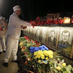 Ukraine Marks Chernobyl Anniversary