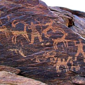 50 Petroglyphs Destroyed in Teymareh