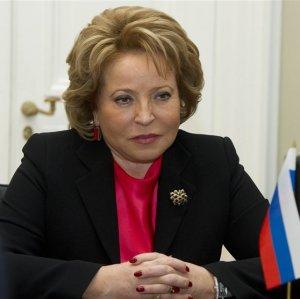 Russian Speaker Arrives