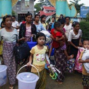 Myanmar Army Kills 25 in Rohingya Villages