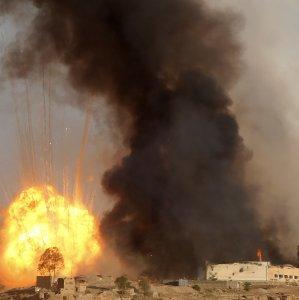 12 Yemeni Civilians Killed in Saudi Airstrike