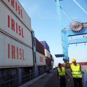 Iranian ports' total container traffic rose by 16% in August, 19.5% in July and 14% in June.