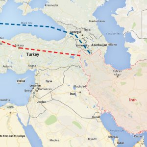 1st European Cargo Bypasses Turkey to Reach Iran