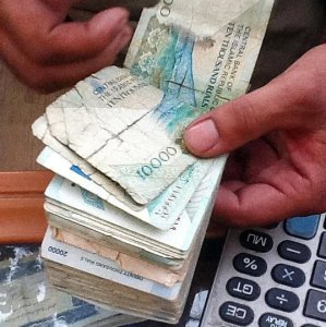 Bank Melli Iran was in charge of circulating money in the country in the past.