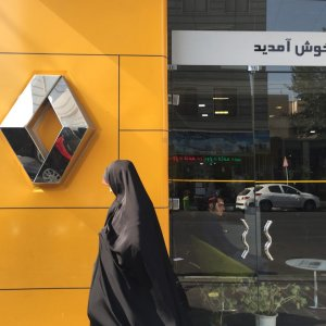 French auto group Renault has expressed readiness for setting up a factory in Iran. (Photo: Neda Monem)